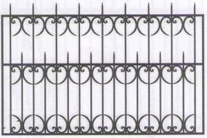 Заказать металлический забор