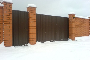 Распашные ворота от СК Алисма