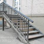 Лестница для магазина на второй этаж