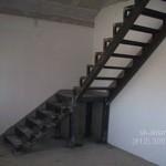 Простая металлическая лестница