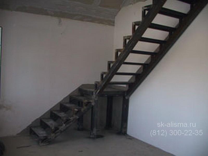 Металлический каркас лестницы своими руками фото