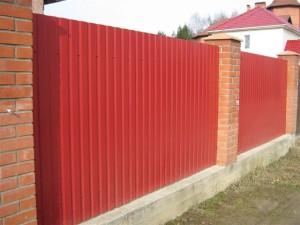 Забор на ленте