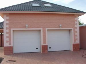 Устройство секционных гаражных ворот