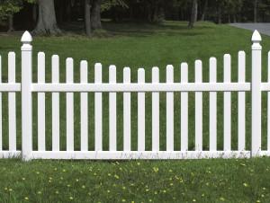 На каком расстоянии ставить забор