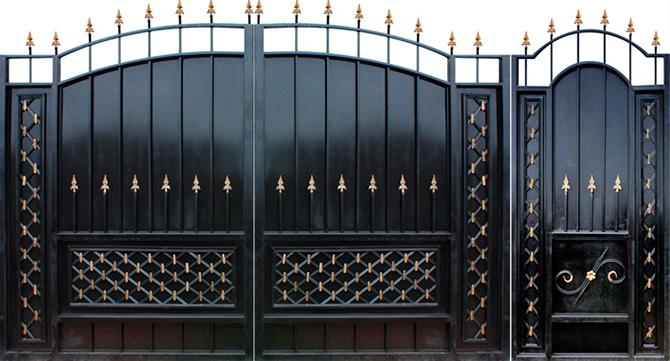 Как купить надежные ворота для дачи