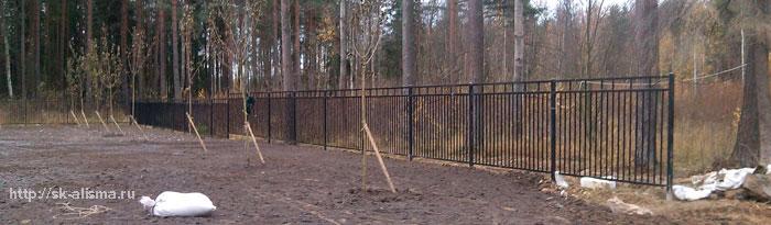 Металлический забор (сварной)