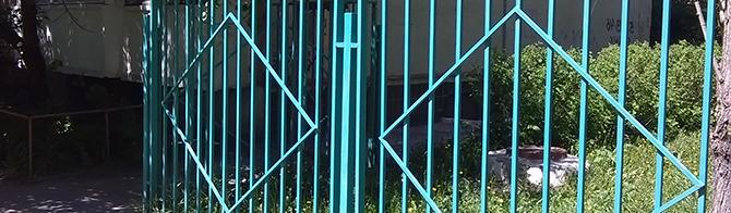Типовой металлический забор - Тип 2