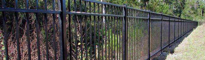 Типовой металлический забор - Тип 1